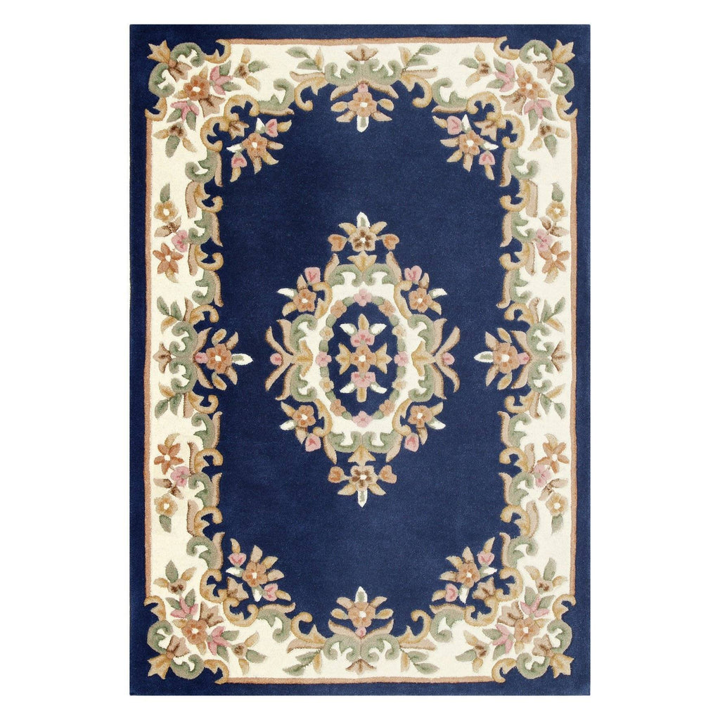 Royal Blue Area Rug RUGSANDROOMS