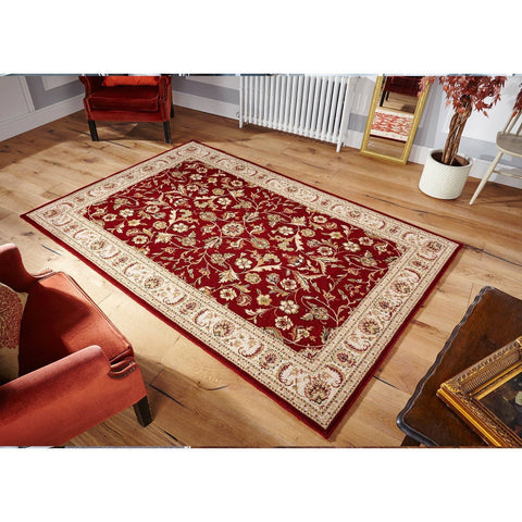 Image of Royal Persian Red Area Rug RUGSANDROOMS