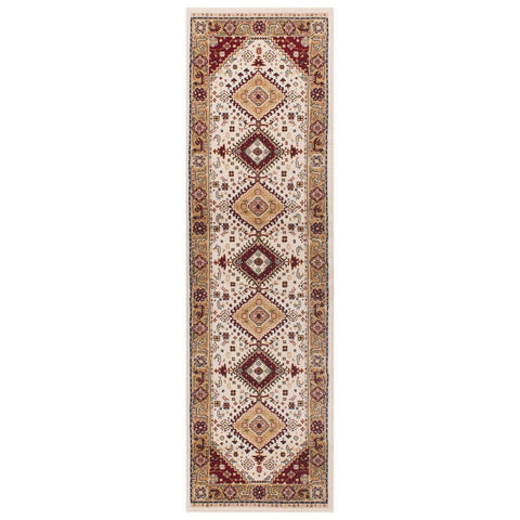 Image of Traditional Cream Area Rug RUGSANDROOMS