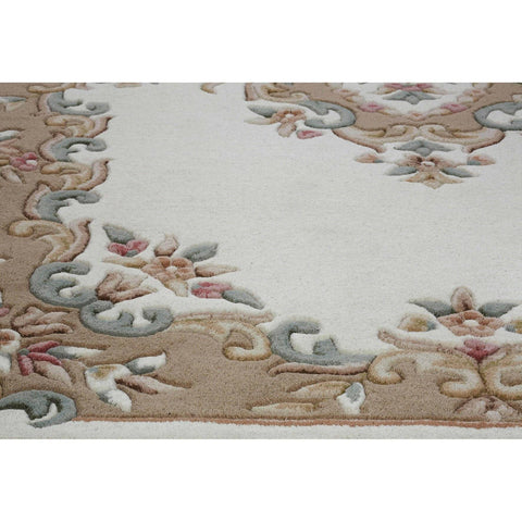 Image of Royal Cream Area Rug RUGSANDROOMS