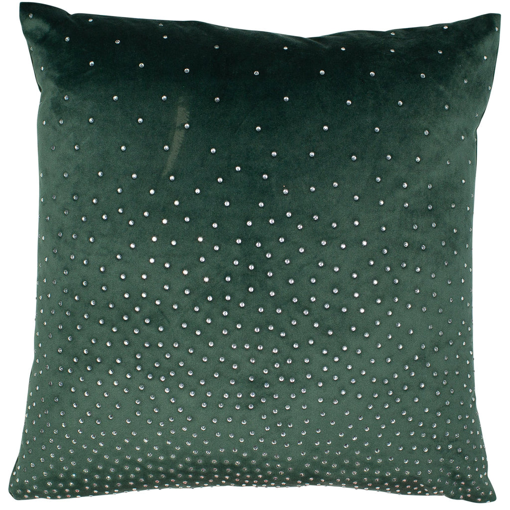 Malini Zircon Green Cushion