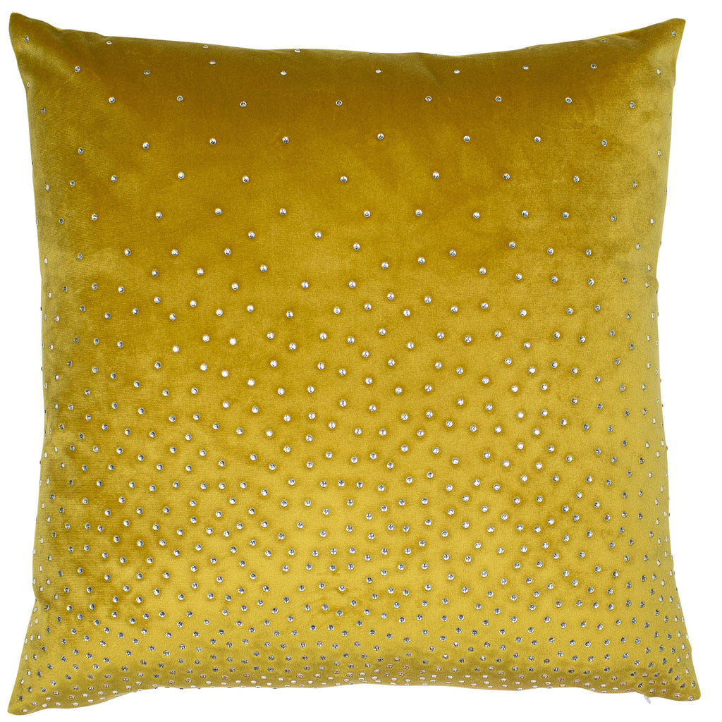 Malini Zircon Mustard Cushion