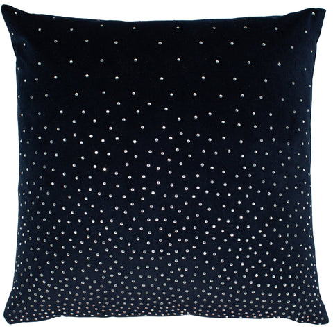 Malini Zircon Navy Cushion