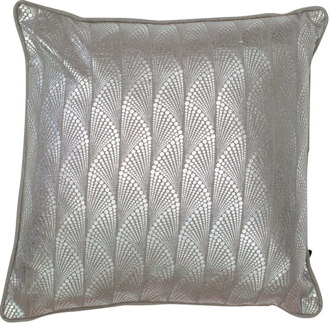 Image of Malini Addison Silver Cushion