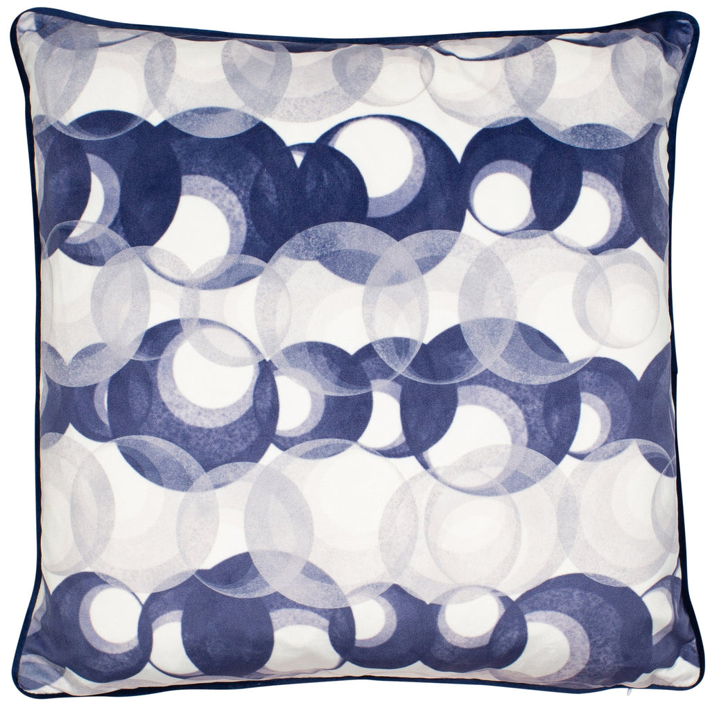 Malini Krishan Navy Cushion