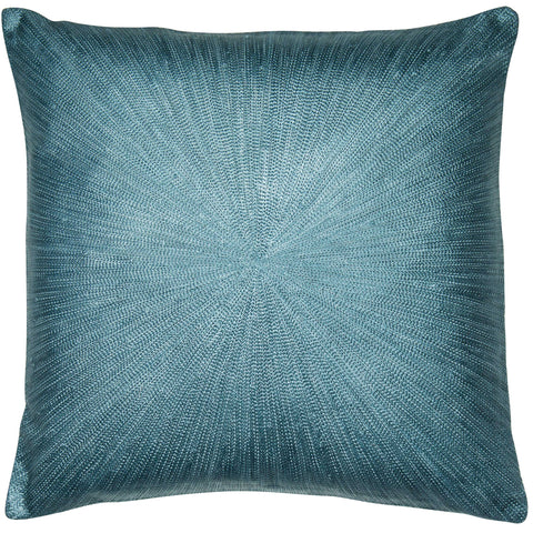 Image of Malini Rays Teal Cushion