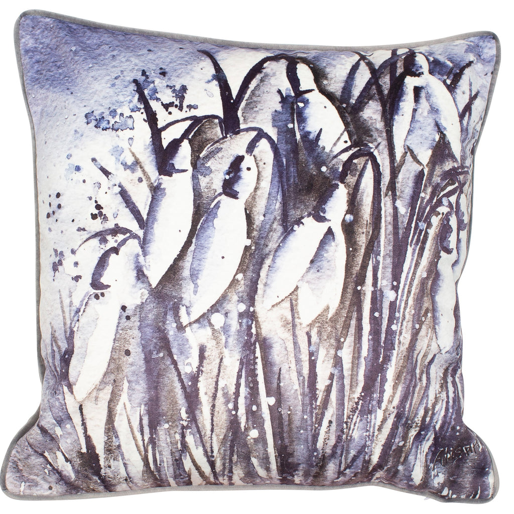 Malini Snowdrop Cushion