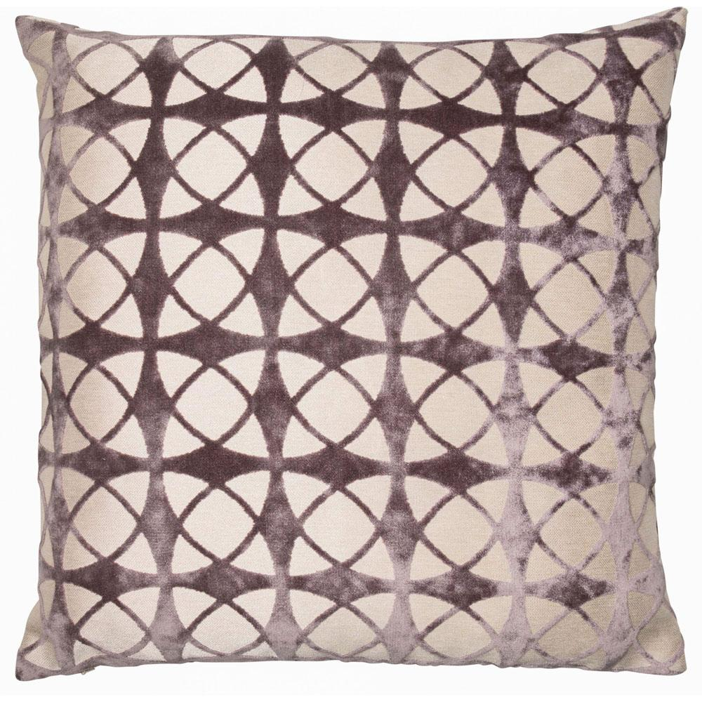 Malini Spiral Grey Cushion