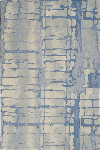Image of Angela Blue/Grey Area Rug RUGSANDROOMS