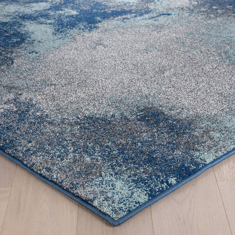 Image of Selma Blue Area Rug RUGSANDROOMS