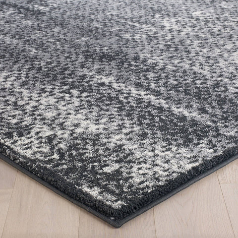 Image of Sansa Charcoal Area Rug RUGSANDROOMS