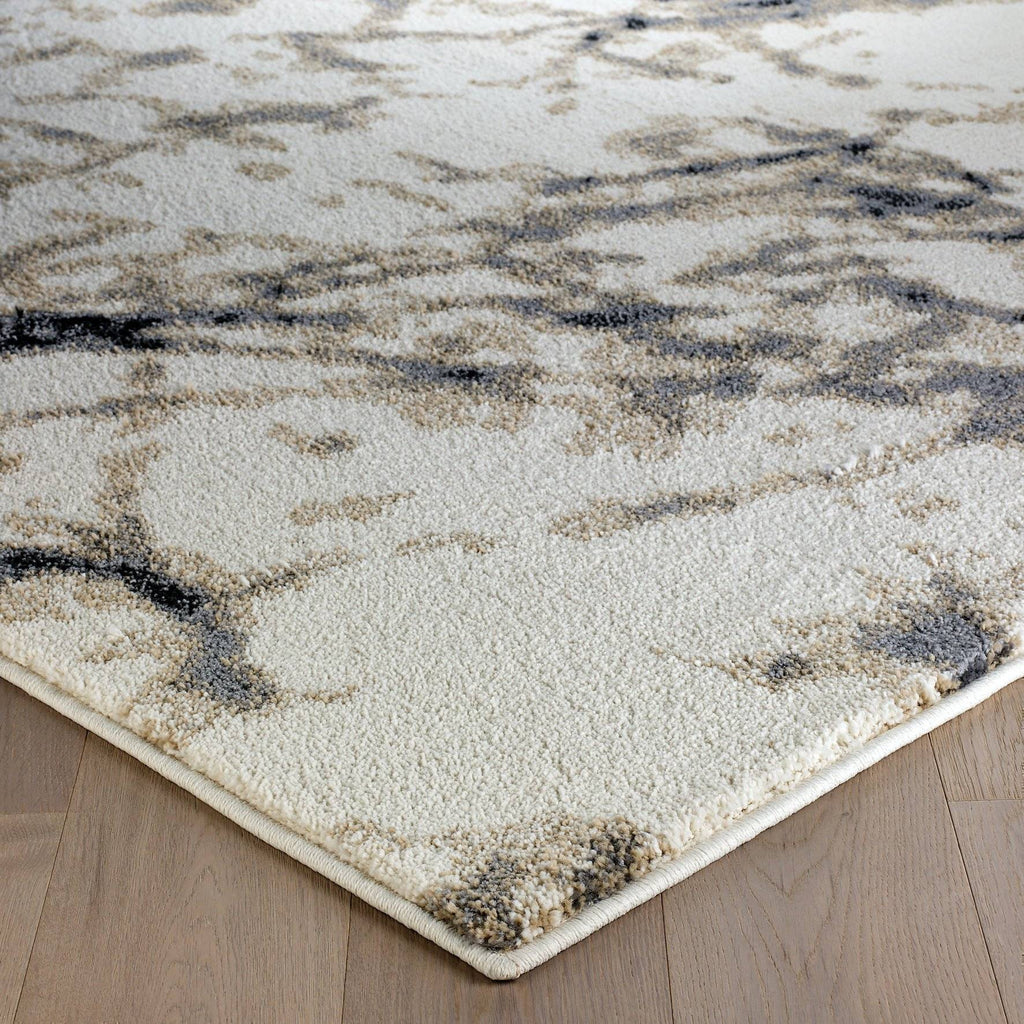 Selma Cream/Grey Area Rug RUGSANDROOMS