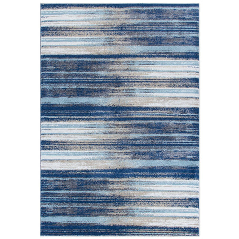 Image of Sansa Blue Area Rug RUGSANDROOMS