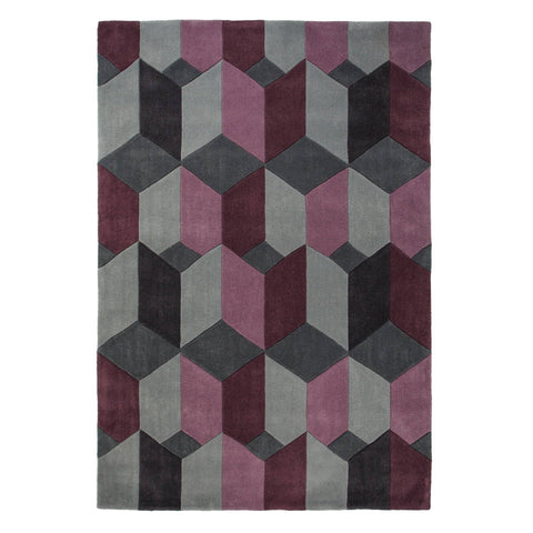 Image of Kalani Purple Area Rug RUGSANDROOMS