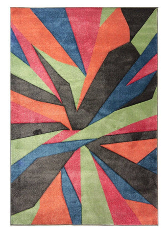 Image of Shatter Multi-Coloured Area Rug RUGSANDROOMS