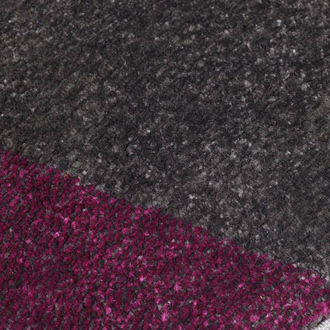 Image of Shatter Purple/Grey Area Rug RUGSANDROOMS