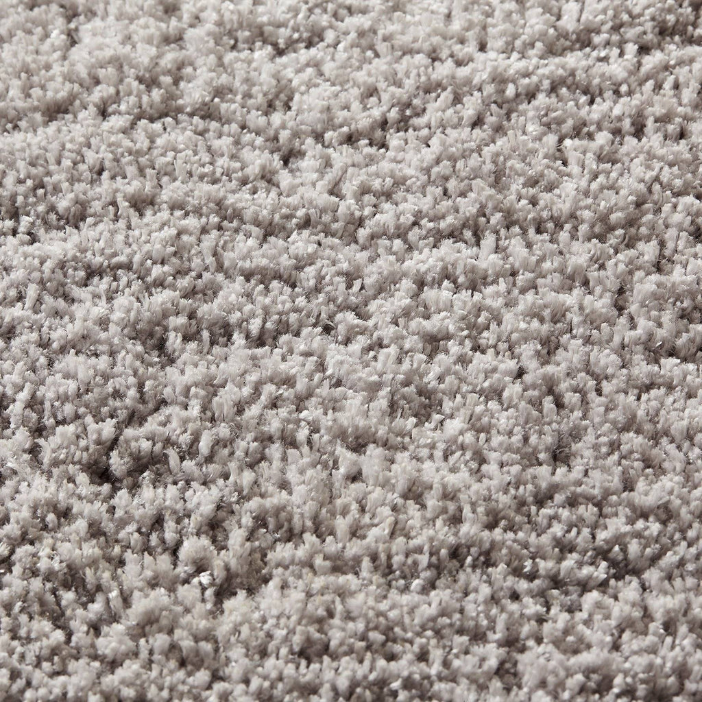 Soft Shaggy Grey Area Rug RUGSANDROOMS