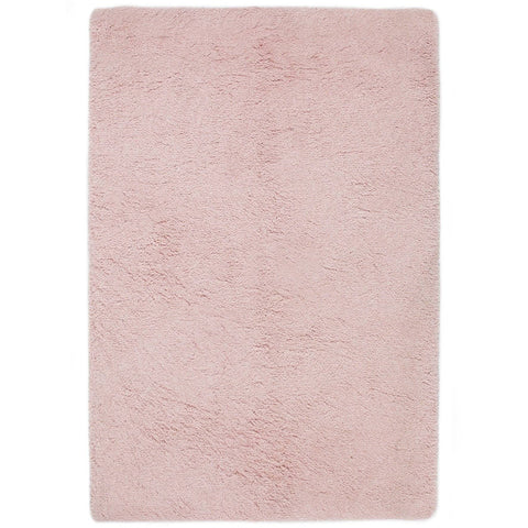 Soft Shaggy Pink Area Rug RUGSANDROOMS