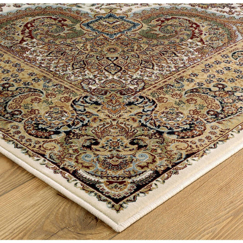 Image of Tabriz Cream Area Rug RUGSANDROOMS