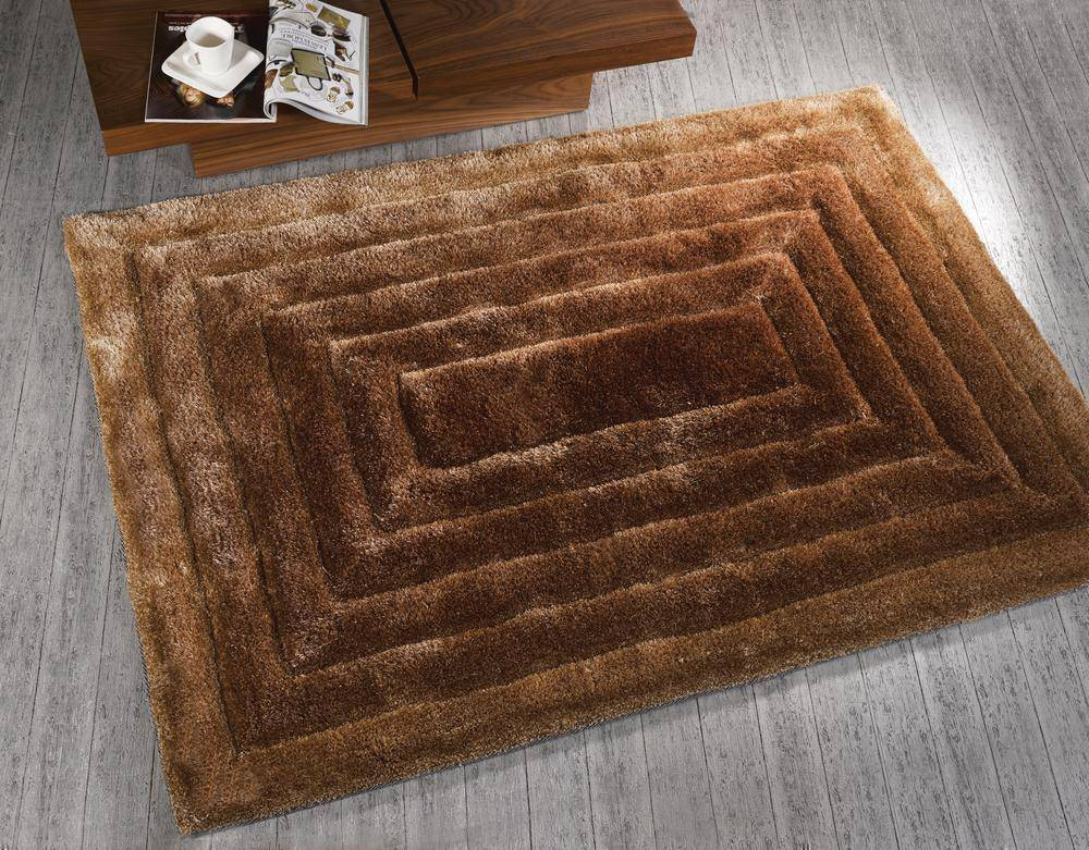 Ridged Natural Area Rug RUGSANDROOMS