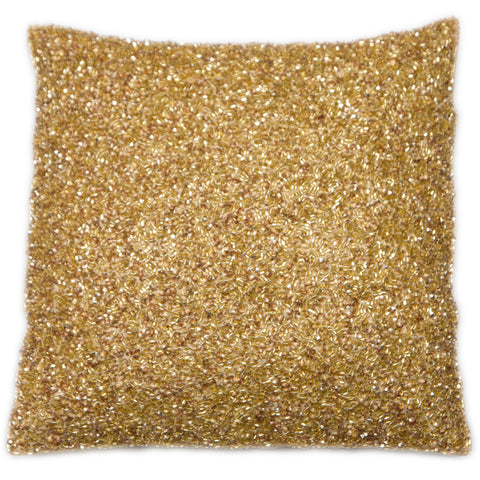 Malini Cluster Gold Cushion