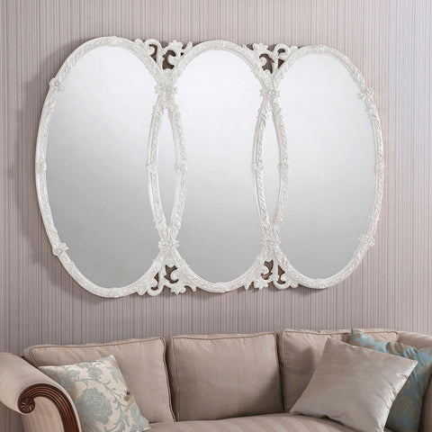 Overlap White Mirror