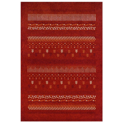 Image of Zante Red Area Rug RUGSANDROOMS