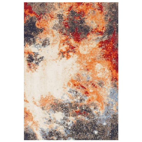 Image of Abstract Multi Coloured Area Rug RUGSANDROOMS