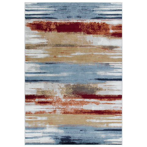 Zarah Multi Coloured Area Rug RUGSANDROOMS