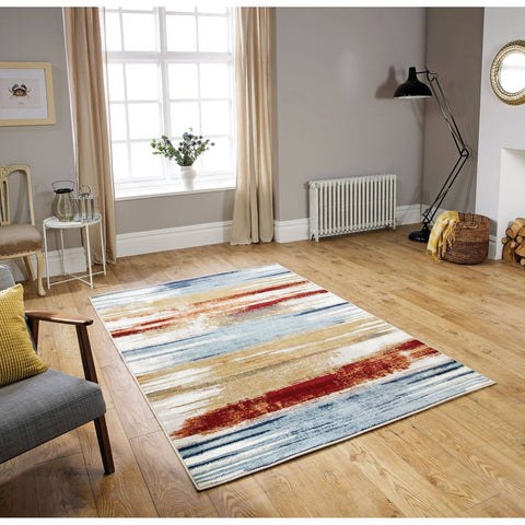 Image of Zarah Multi Coloured Area Rug RUGSANDROOMS