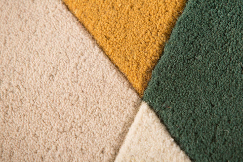 Image of Mona Green/Multi Area Rug RUGSANDROOMS