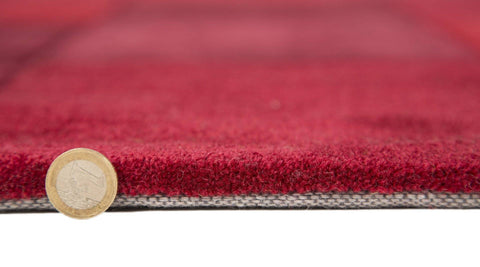 Image of Mabel Red Area Rug RUGSANDROOMS