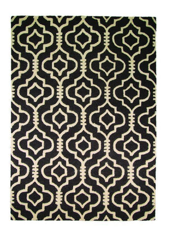 Image of Laila Grey Area Rug RUGSANDROOMS