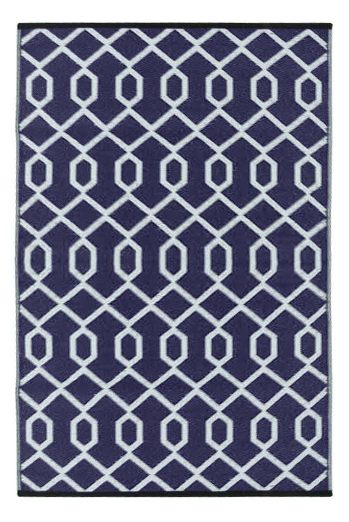 Valencia Plum & Grey Indoor-Outdoor Reversible Rug cvsonia
