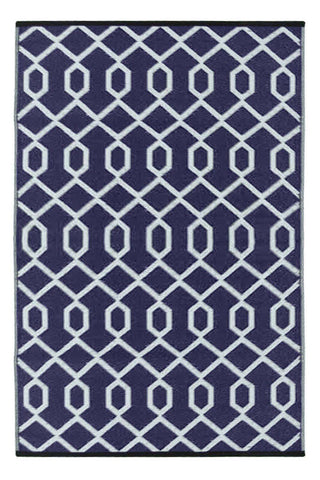 Image of Valencia Plum & Grey Indoor-Outdoor Reversible Rug cvsonia