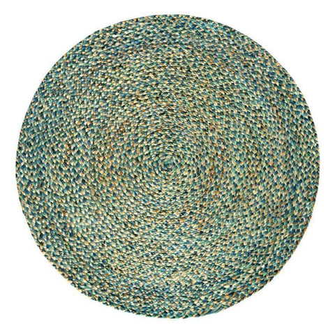 Spectrum Round Jute Rug , Natural cvsonia