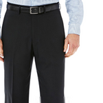 Expandable Stretch Classic-Fit Flat-Front Pants