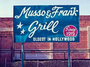 Musso and Frank's Grill in Hollywood with Frank Worth Photography