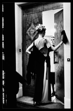"""16th Arrondissement, Paris 1975"" 16x20 Vintage Silver Gelatin Print by Helmut Newton Photography-Global Images Gallery-Global Images"
