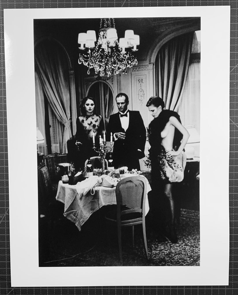 """After Dinner Paris"" 16x20 Vintage Silver Gelatin Print by Helmut Newton Photography-Global Images Gallery-Global Images"