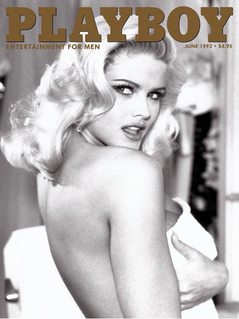 "Playboy Vintage Cover Collection ""Anna Nicole Smith, June 1993 "" w/coa - Global Images Gallery"