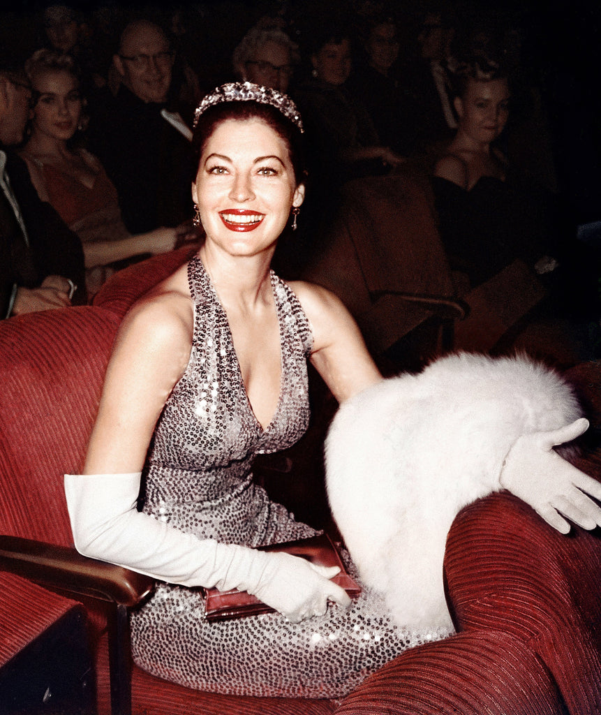 "Frank Worth Collection ""Ava Gardner At Academy Awards 1960, Color"" w/coa - Global Images Gallery"