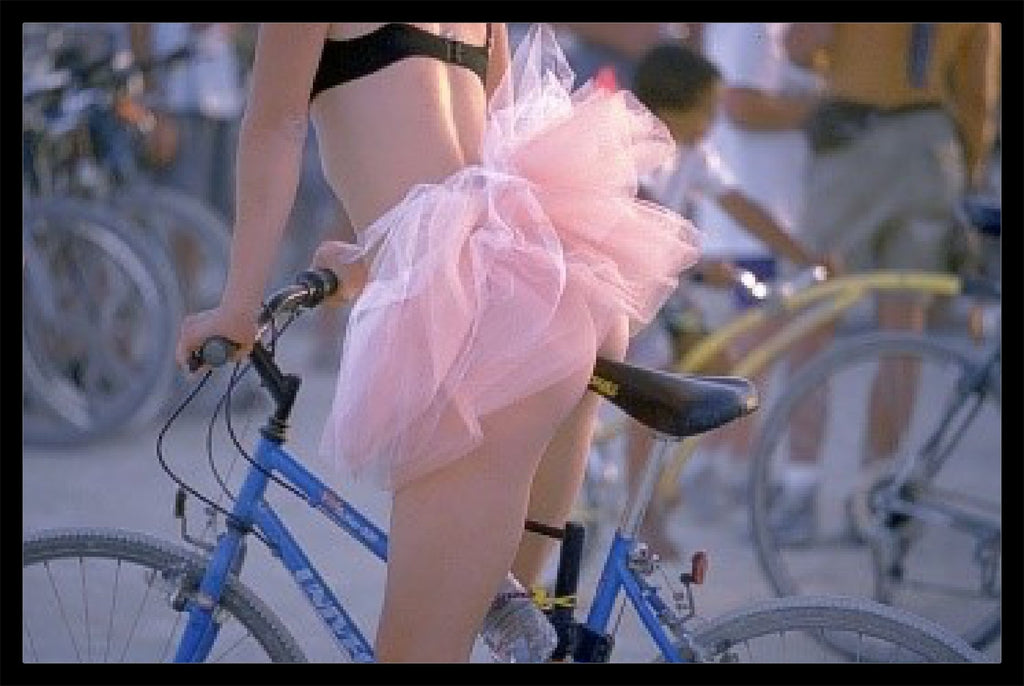 """Ballerina Biker"" by Daniel Furon-Fine Art Print-Global Images Gallery-16x20 Limited Edition of 75-Global Images"