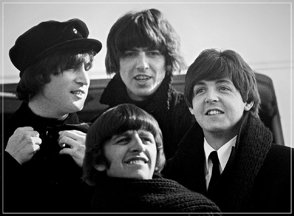 """Beatles Foursome""-Roger Fritz Fine Art Print-Global Images Gallery-Global Images"