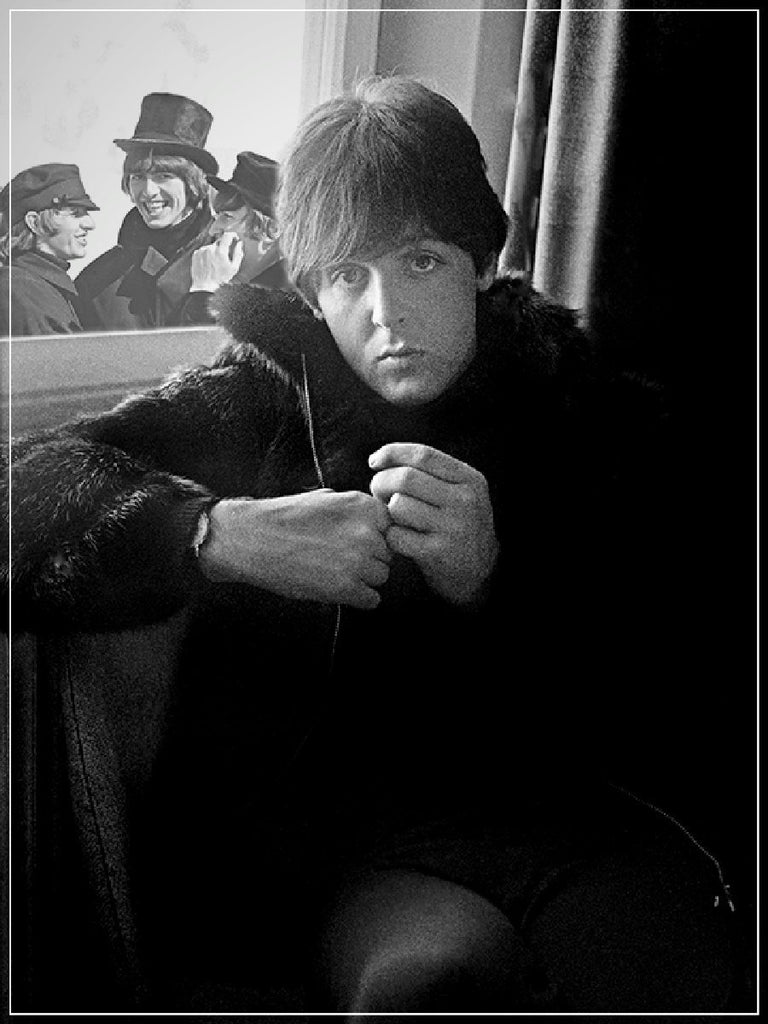 """Beatles Paul McCartney""-Roger Fritz Fine Art Print-Global Images Gallery-Global Images"