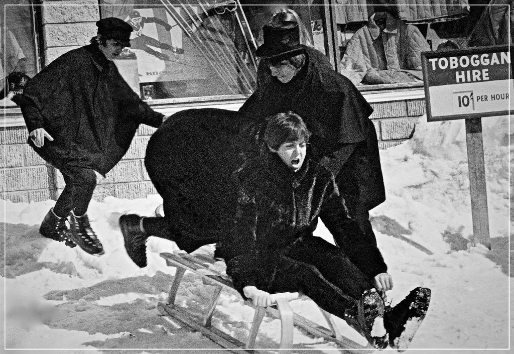 """Beatles Toboggan Ride II""-Roger Fritz Fine Art Print-Global Images Gallery-Global Images"