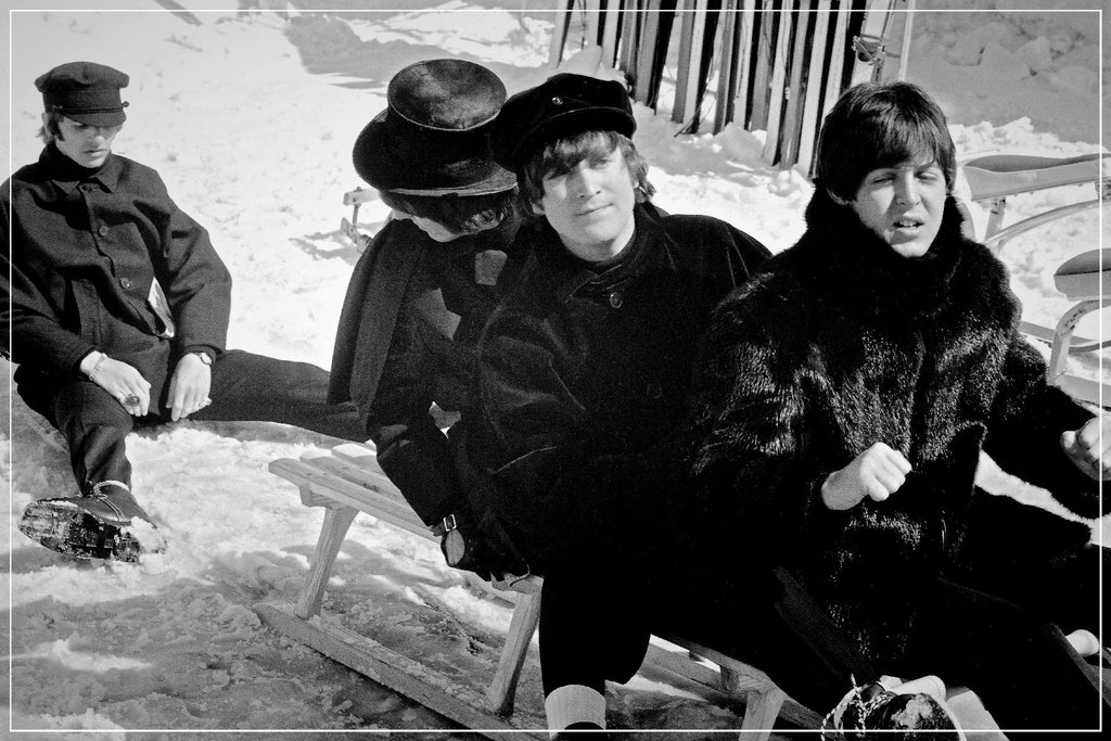 """Beatles Toboggan Ride""-Roger Fritz Fine Art Print-Global Images Gallery-Global Images"
