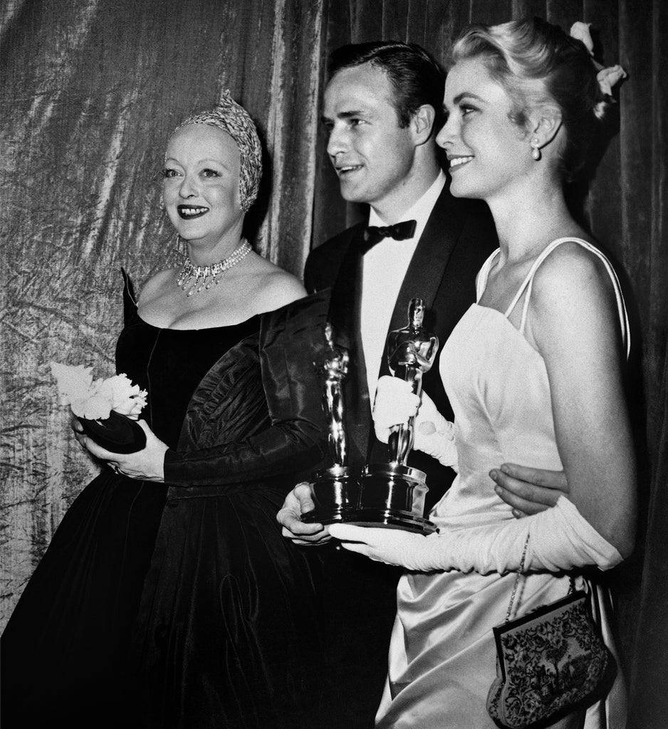 "Frank Worth Collection ""Bette Davis, Marlon Brando and Grace Kelly at the Oscars"" w/coa - Global Images Gallery"