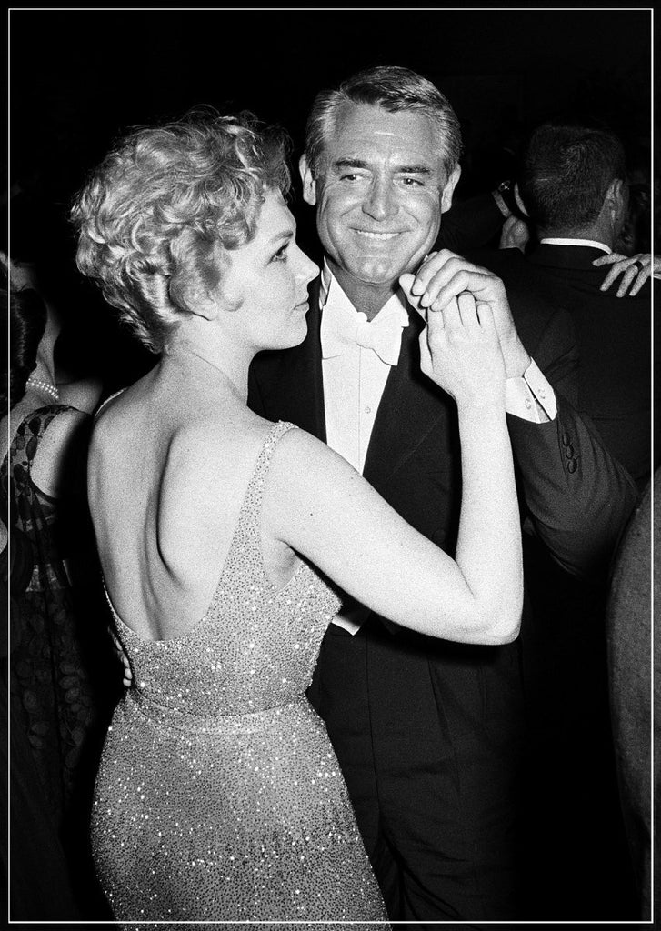 Cary Grant Dancing With Kim Novak taken by Frank Worth Photography