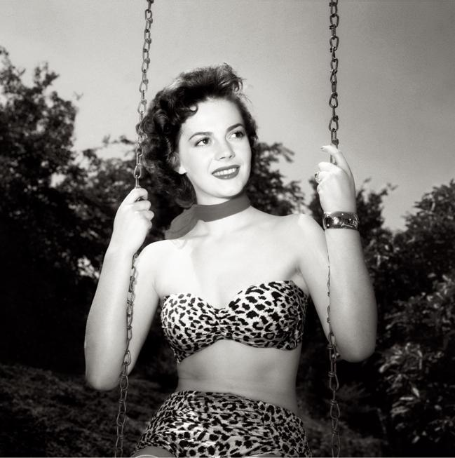 "Frank Worth Collection ""Natalie Wood In Swing BW"" w/coa - Global Images Gallery"